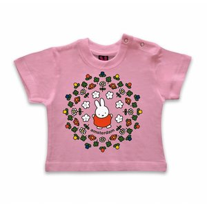 Nijntje (c) T-Shirt Miffy - Amsterdam - Blumen