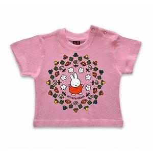Nijntje (c) T-Shirt Nijntje - Amsterdam - Bloemetjes