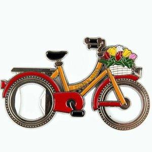 Typisch Hollands Opener fiets Holland rood