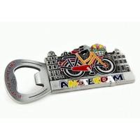 Typisch Hollands Magnet opener - Bike Amsterdam