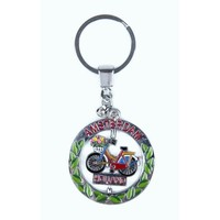 Typisch Hollands Rotating bicycle keychain Holland - Amsterdam