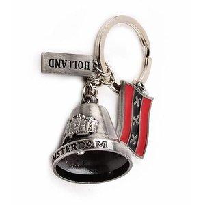 Typisch Hollands Schlüsselanhänger - Holland - Amsterdam - Bell