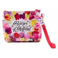 Typisch Hollands Brieftasche Tasche - Blumen aus Holland