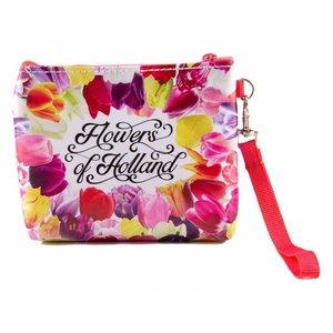 Typisch Hollands Wallet bag - Flowers from Holland