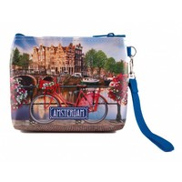 Typisch Hollands Wallet - bag Bicycle on Bridge