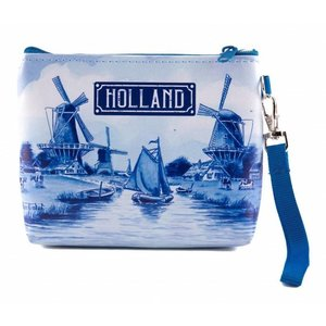 Typisch Hollands Wallet bag Holland Delft blue