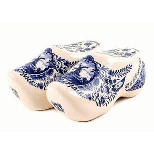 Typisch Hollands Pfeffer- und Salzklumpenpaar Delftware