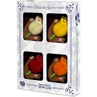Typisch Hollands Chocolade Tulpen - Midi Box 120 Gram