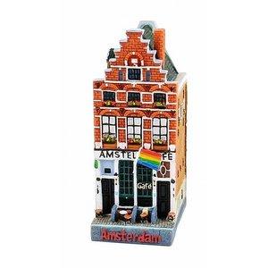 Typisch Hollands Huisje cafe Amstel 54 12 cm