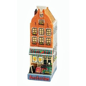 Typisch Hollands Groentezaak gevelhuisje