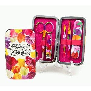 Typisch Hollands Maniküre-Set Blumen von Holland