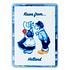 Typisch Hollands Magneet rechthoek kissing couple - Color
