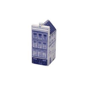 Heinen Delftware Anne Frankhuis small-Delft blue