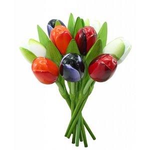 Typisch Hollands Boeket houten tulpen