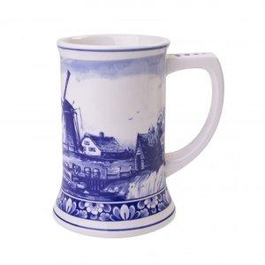 Heinen Delftware Luxury beer mug mills - 14 cm