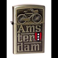 Typisch Hollands Luxus-Jet-Feuerzeug - Amsterdam - Fahrrad