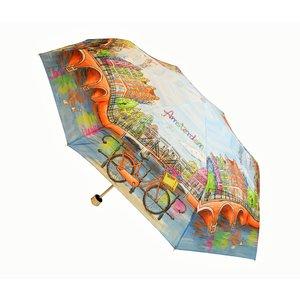 Typisch Hollands Regenschirm - trendige Farbe - Amsterdam