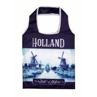 Typisch Hollands Holland Delft blaue faltbare Tasche