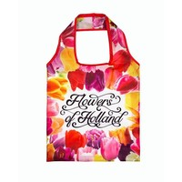 Typisch Hollands Holland Tulpen foldable bag