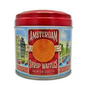 Typisch Hollands Stroopwafels in can Amsterdam - Nostalgie-Altstadt von Amsterdam