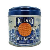 Typisch Hollands Stroopwafels in nogstalgisch - Delfter Blaublech - Holland