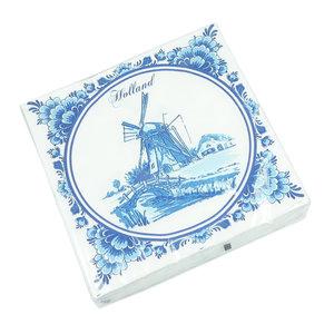 Typisch Hollands Napkins - Delft Blue Mill
