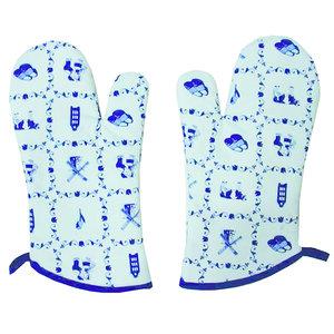 Typisch Hollands Oven gloves - Typically Dutch - Tile design