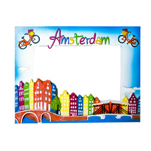 Typisch Hollands Amsterdam - Photo frame