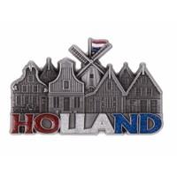Typisch Hollands Magnetmühle & Häuser Holland mit Glitzerdose