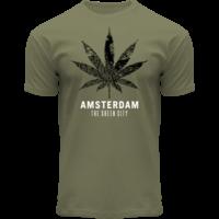 FOX Originals T-shirt mapping cannabis Amsterdam