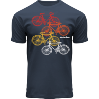 FOX Originals T-shirt -Bike Colors Amsterdam