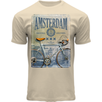 FOX Originals T-Shirt - Amsterdam - Bike (weiß)