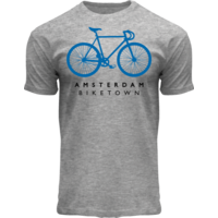FOX Originals T-Shirt heather grey - Bike Town Amsterdam