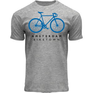 FOX Originals T-Shirt grau meliert - Bike Town Amsterdam