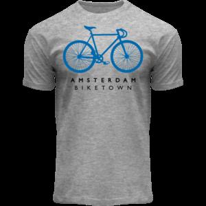 FOX Originals T-Shirt heather grey - Bike Town Amsterdam