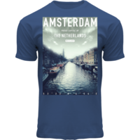 FOX Originals Amsterdam shirt denimblue- Photo plaque