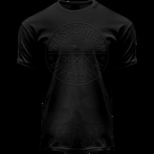 Holland fashion Brixton Bike shirt - Amsterdam Black