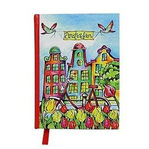 Typisch Hollands Notitieboekje Amsterdam Color