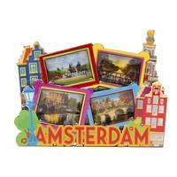 Typisch Hollands Magneet MDF Amsterdam foto's