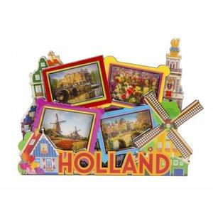 Typisch Hollands Magneet MDF Holland foto's