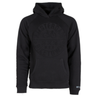FOX Originals Hooded brixton-sweater - Amsterdam Bike  (Zwart embossed)