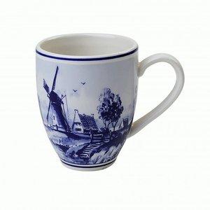 Typisch Hollands Large mug with mill landscape