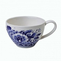 Typisch Hollands Tea mug - Delft blue - Floral pattern