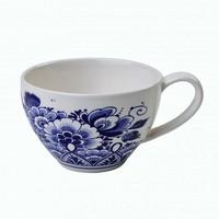 Typisch Hollands Teebecher - Delfter Blau - Blumenmuster