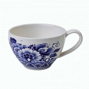 Heinen Delftware Theemok - Delfts blauw - Bloemmotief