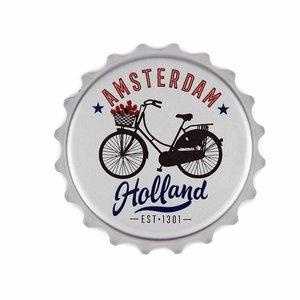 Typisch Hollands Opener magneet fiets Amsterdam