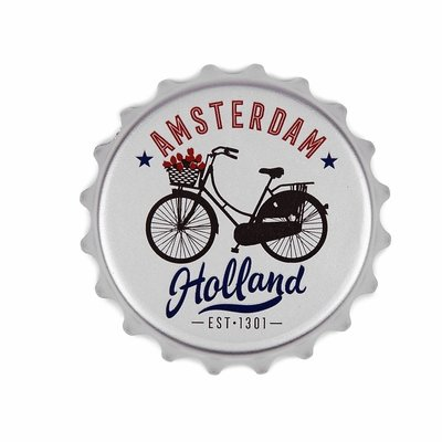 Typisch Hollands Opener magnet bike Amsterdam