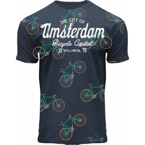 FOX Originals Kinder T-Shirt - Fiets - Blue