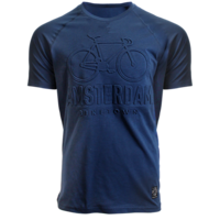 FOX Originals Kinder - T-shirt - Blauw Bike-town