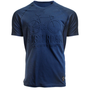 FOX Originals Kinder - T-shirt - Blauw Bike-town